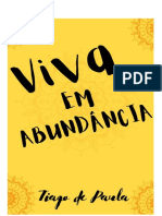 VIDA EM ABUNDANCIA - Tiago de Paula