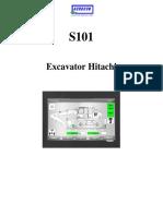 S101 Excavator Hitachi Rail - HMI v1.0 RO