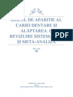 o reviziure sistematica