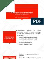 4. Nivelurile comunicării