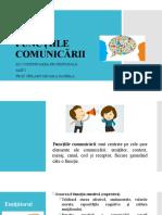 5 Funcțiile comunicării