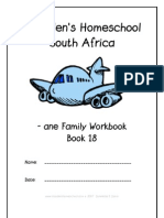 ane End-Word Family Workbook, Donnette E Davis, St Aiden's Homeschool