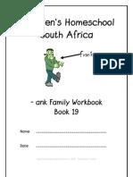 ank End-Word Family Workbook, Donnette E Davis, St Aiden's Homeschool