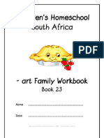 art End-Word Family Workbook, Donnette E Davis, St Aiden's Homeschool
