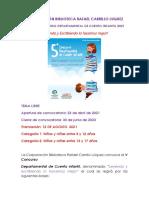 Bases v Concurso Cuento Infantil 2021 de Lenguaje