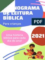 Plano Biblico Infantil