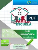 COJEDES 025 MEDIA GUÍA PEDAGÓGICA CADA FAMILIA UNA ESCUELA