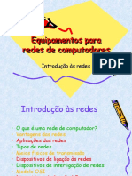 Equipamentos para redes de computadores