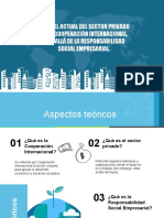 5. EL PAPEL ACTUAL DEL SECTOR PRIVADO EN LA COOPERACIÓN INTERNACIONAL
