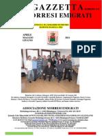 Gazzetta aprile 2011