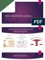 Ged Medicina Legal