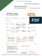 Gmail Alerta GOL Itinerário de Viagem CONFC297810464