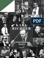 Karl Richter Zeitdokumente Band 3 - Die Jahre 1964 1967 (Preview)