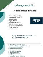 TD Management S2 Séance 1 Chaine de Valeur Étude de Cas Kitea Et Zara 2020