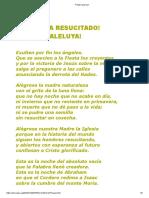 Pregón Pascual 2