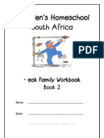 eak End-Word Family Workbook, Donnette E Davis, St Aiden's Homeschool, South Africa