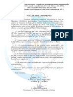 Nota de Esclarecimento_Comissão de Educação e Cultura