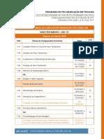 CRONOGRAMA NT 2020 - 4 edição