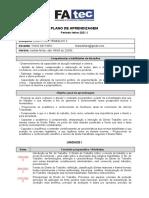 Plano de aula - D. Trabalho II