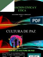 Formacion civica y etica-CULTURA DE PAZ