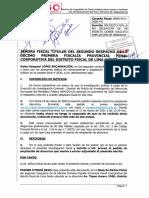 ESCRITO a 2do Despacho de la DÉCIMO PRIMERA FPPCDFLN - 14 MAY 2021; Carpeta Fiscal 4-2020 (Caso Nombramiento Comas)