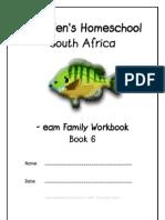 eam End-Word Family Workbook, Donnette E Davis, St Aiden's Homeschool, South Africa
