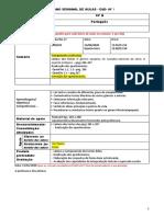 10º B -Português- Plano aula 1 - 13-17 abril