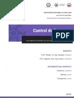 Trabajo Práctico N°1 - Sistemas de control de lazo abierto y lazo cerrado