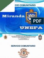 Taller de Induccion Servicio Comunitario Núcleo Miranda Prof. Betty Guerra