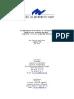 Les déterminants de la confiance du consommateur lors d un achat sur un site marchand _ proposition d un cadre conceptuel préliminaire