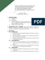 Plan de Curso Teologia Ministerial y Hogar Cristiano Miguel Perozo
