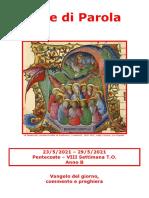 Sete Di Parola -Pentecoste - VIII Settimana T.O. - B