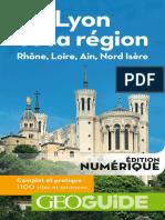 eBook GEOguide Lyon Et Sa Region. Rhone Loire Ain Nord Isere