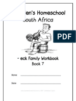 eck End-Word Family Workbook, Donnette E Davis, St Aiden's Homeschool, South Africa