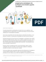 Contribuições ao planejamento estratégico do Inmetro – Posição do Brasil e do Inmetro quanto à Infraestrutura em Qualidade _ Asmetro-SN