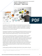 Planejamento estratégico, stakeholders e o contrato de gestão do Inmetro – Near miss _ Asmetro-SN