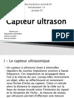Capteur ultrason
