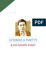 Leyendo a Piketty - Juan Ramon Rallo Julian