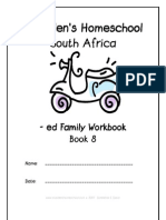 ed End-Word Family Workbook, Donnette E Davis, St Aiden's Homeschool, South Africa