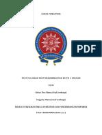 CV Dan Kelengkapan Risetmu