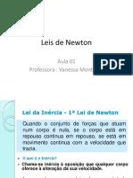 Leis de Newton aula 01
