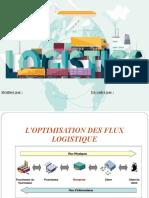 optimisation des flux logistique