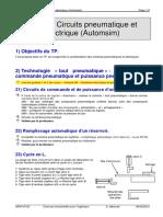 TP 30.1 Circuits Pneumatique Et Électrique (Automsim)