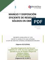Manejo y Disposición Eficiente de Residuos Sólidos
