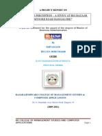 Big Bazaar main report
