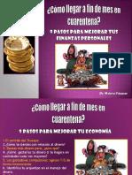 9 pasos para mejorar las finanzas personales By Monica Vasquez