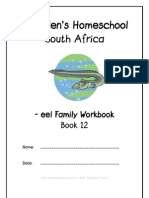 eel End-Word Family Workbook, Donnette E Davis, St Aiden's Homeschool, South Africa
