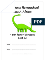 een End-Word Family Workbook, Donnette E Davis, St Aiden's Homeschool, South Africa
