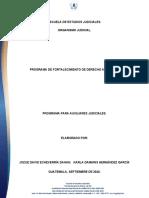 DESARROLLO DEL MODULO I FORTALECIMIENTO DERECHO AMBIENTAL (1)