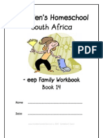 eep End-Word Family Workbook, Donnette E Davis, St Aiden's Homeschool, South Africa